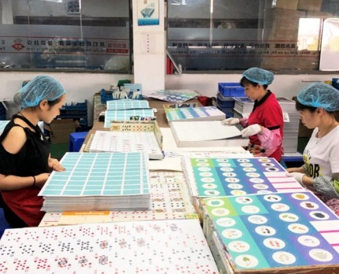 Board Game Manufacturer Machine, Manual Inspection