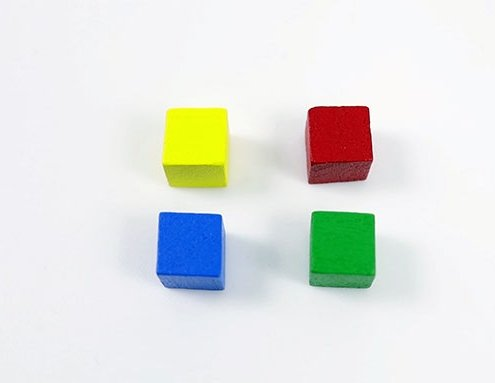 Board Game Manufacturer, Wooden Cubes